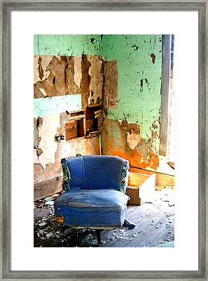 Easy Chair Framed Print