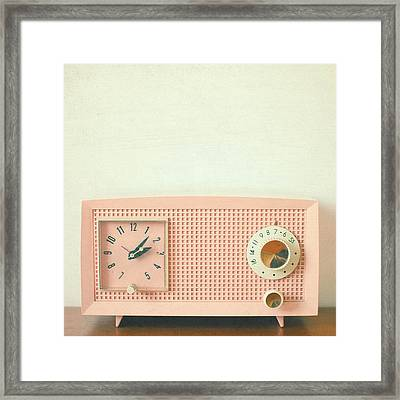 Easy Listening Framed Print by Cassia Beck