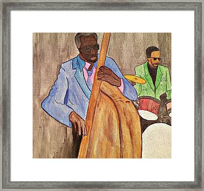 Easy Listening Framed Print by Lew Griffin