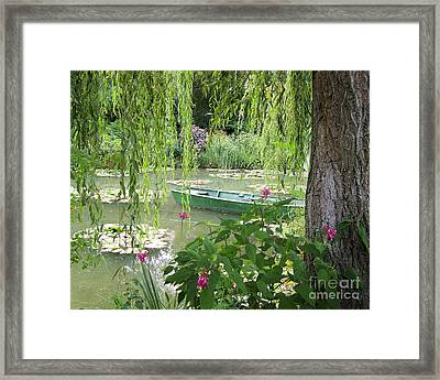 Framed Print featuring the photograph Easy Living by Victoria Harrington