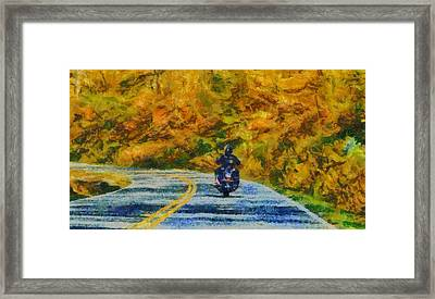 Easy Rider Framed Print by Dan Sproul