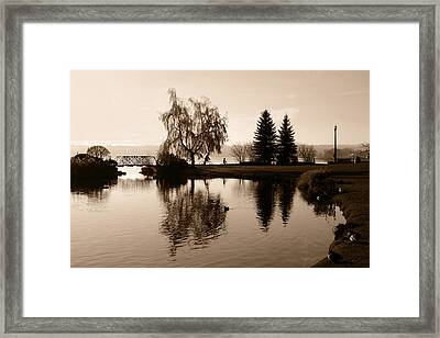 Easy Riders Framed Print