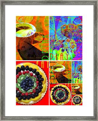 Eat Drink Play Repeat 20140705 Vertical Framed Print by Wingsdomain Art and Photography