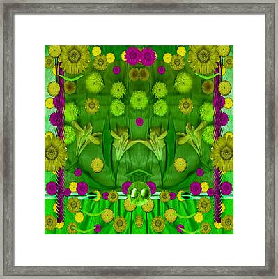 Eat With Your Senses Framed Print by Pepita Selles