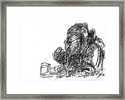 Eater 3 Framed Print by Ylli Haruni