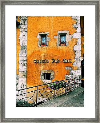 Eatery 2 Framed Print by Maria Huntley