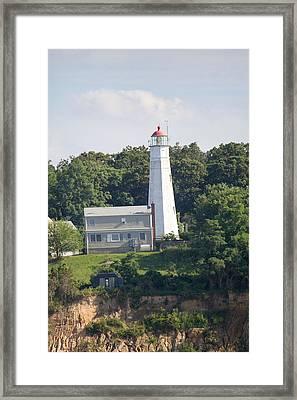 Eatons Neck Lighthouse Framed Print