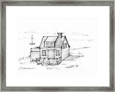 Eatons Residence Framed Print by Richard Wambach