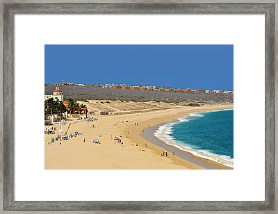 Beautiful Baja Beaches Framed Print by Christine Till