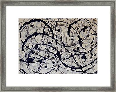 Ebb And Flow Framed Print by Susan Williams