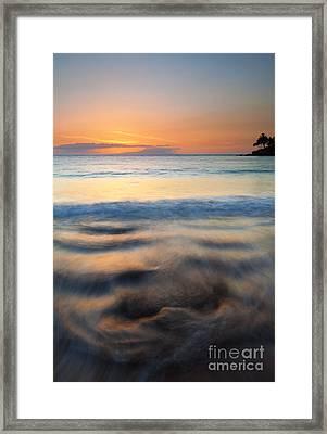 Ebb Framed Print