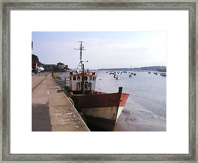 Ebb Tide Framed Print