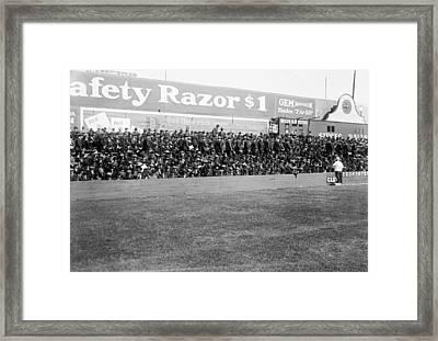 Ebbets Field - Home Of The Brooklyn Robins 1919 Framed Print