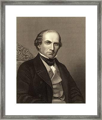 Eben Norton Horsfod Framed Print by Universal History Archive/uig