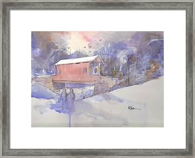 Ebenezer Bridge  Framed Print