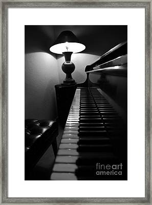 Ebony And Ivory Framed Print by Al Bourassa