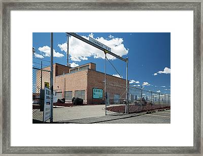 Ebr-i Nuclear Reactor And Museum Framed Print by Jim West