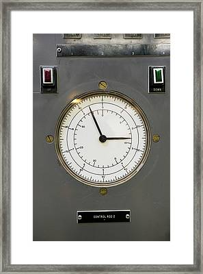 Ebr-i Nuclear Reactor Control Panel Framed Print by Jim West