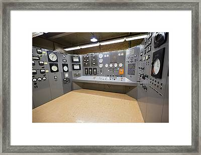 Ebr-i Nuclear Reactor Control Room Framed Print by Jim West