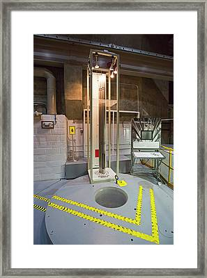 Ebr-i Nuclear Reactor Fuel Rods And Core Framed Print by Jim West