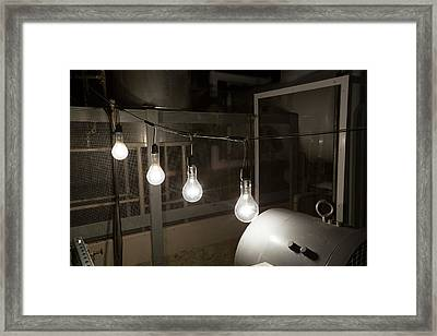Ebr-i Nuclear Reactor Power Output Framed Print by Jim West