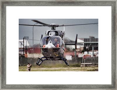 Ec145 Display Framed Print by Paul Job