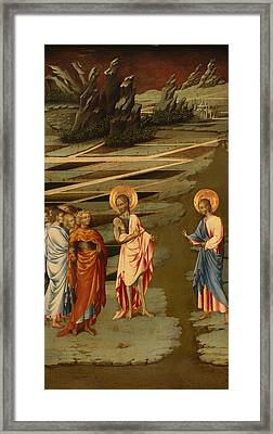 Ecce Agnus Dei  Framed Print by Mountain Dreams