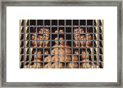 Ecce Homo 2 Framed Print by Elena Mussi