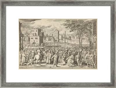 Ecce Homo, Nicolaes De Bruyn, Unknown Framed Print