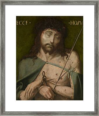 Ecce Homo   Framed Print by  Old Master