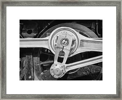Eccentric Concentric Framed Print by Jack Zulli