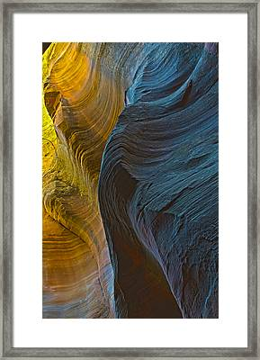 Echo Canyon Glow Framed Print