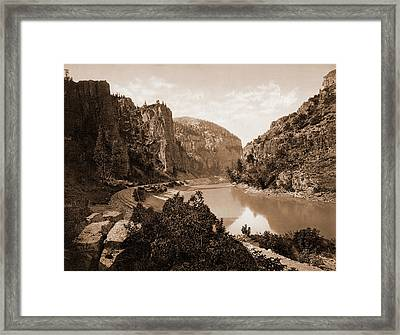 Echo Cliffs, Grand River Canyon, Colo, Jackson, William Framed Print by Litz Collection