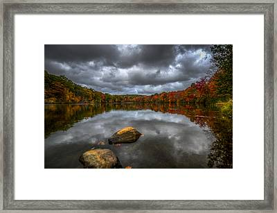 Echo Framed Print by Johnny Lam