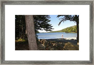 Echo Lake Framed Print