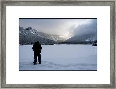 Echo Lake Framed Print by Christine Nunes