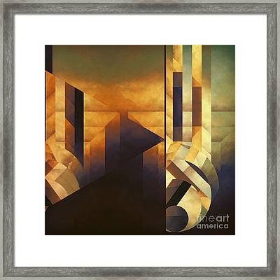 Echo Of Desire Framed Print by Lonnie Christopher
