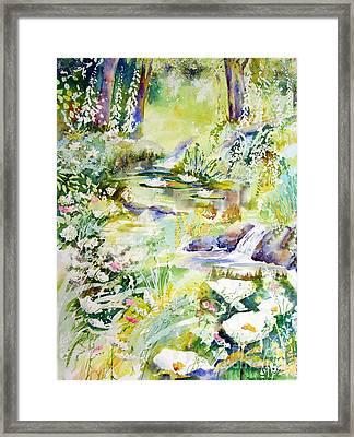 Echo Of Spring Framed Print
