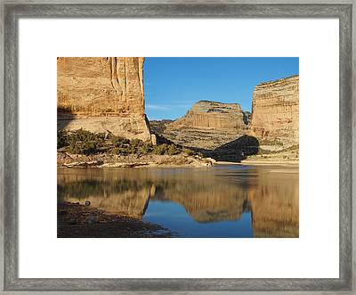 Echo Park In Dinosaur National Monument Framed Print