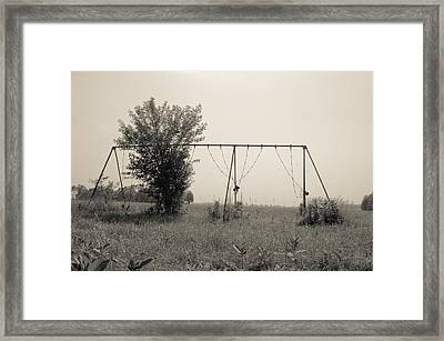 Echoes Of Childrens Laughter  Framed Print by Off The Beaten Path Photography - Andrew Alexander