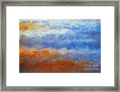 Echoes Of Earth And Sky Framed Print