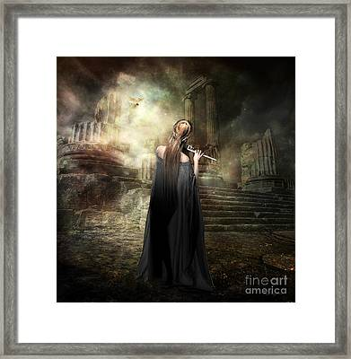Echoes Of Euterpe Framed Print by Shanina Conway