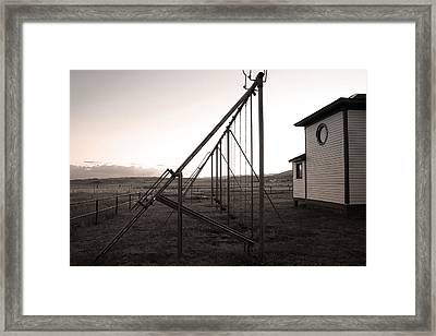 Framed Print featuring the photograph Echoes Of Laughter by Jim Garrison