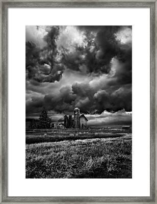 Echos Framed Print by Phil Koch