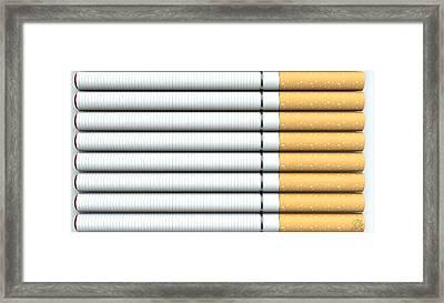 Ecigarette Revolution Framed Print