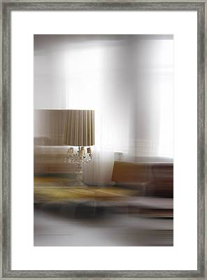 Eclectic Blur Framed Print