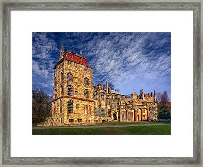Eclectic Castle Framed Print by Susan Candelario