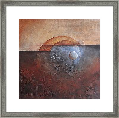 Eclipse Framed Print by Buck Buchheister