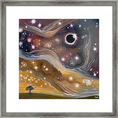 Eclipse Framed Print by Cedar Lee