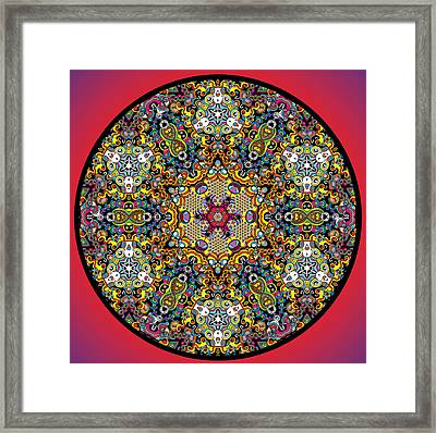 Eclipse Framed Print by Hector Guillen